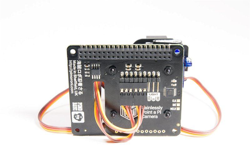 Servo wires connection