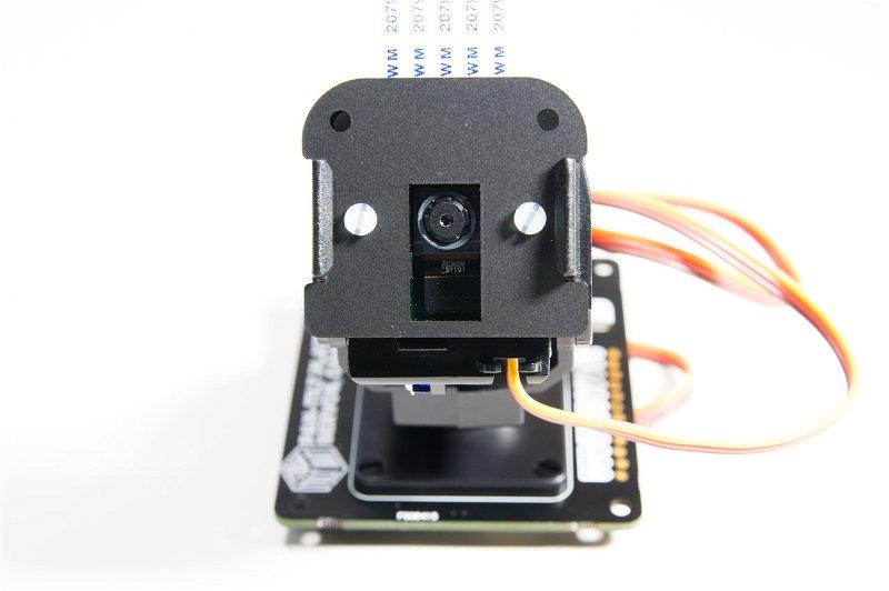 Camera mounted