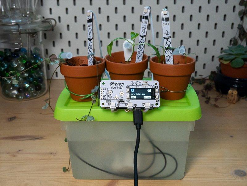 Enabling auto-watering using Grow