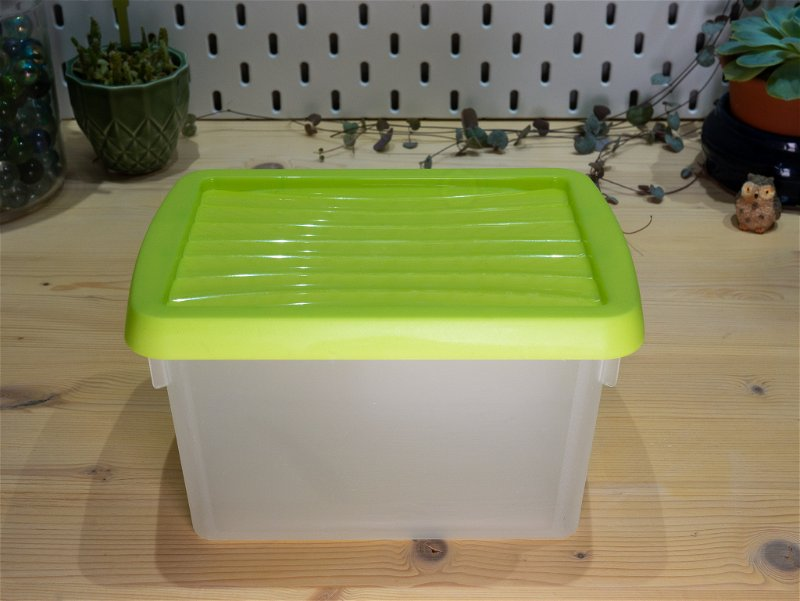 The plastic box we