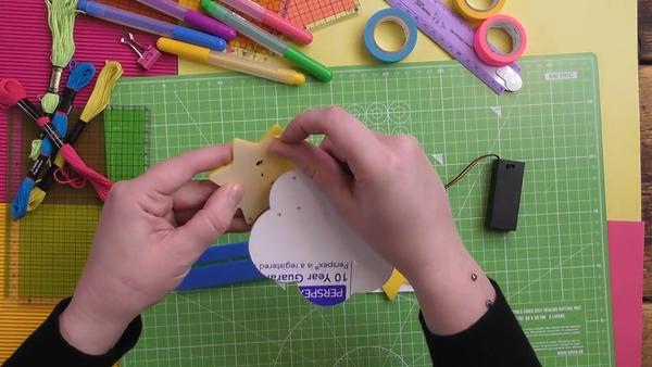 peel the acrylic pieces
