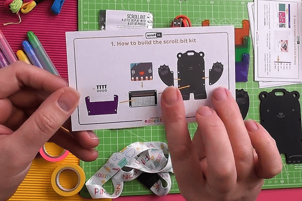 printed instructions come with the kit