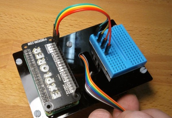 Motor wires to breadboard
