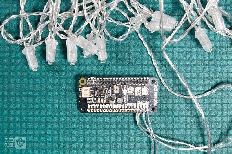 Soldered LED wires