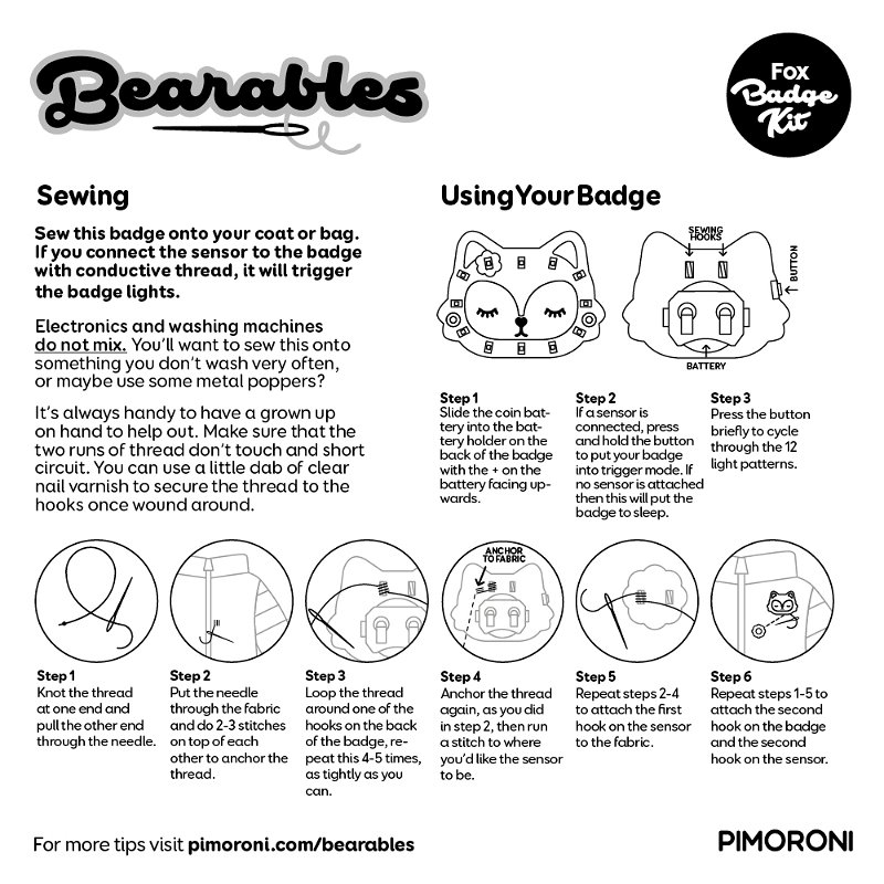 Bearables quick start guide