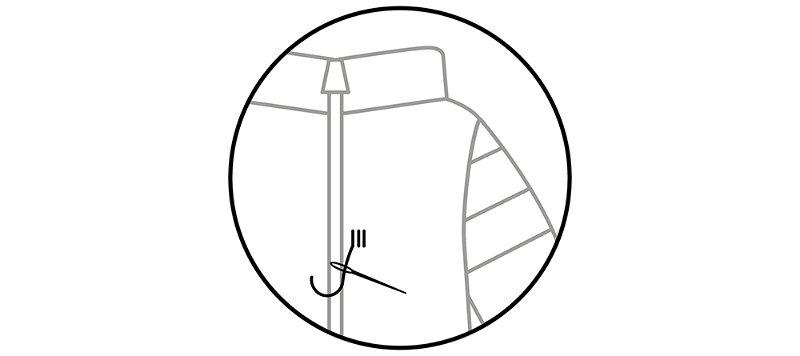 Anchored thread