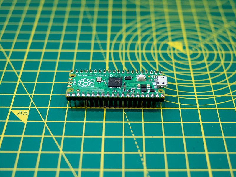 Raspberry Pi Pico with attached headers