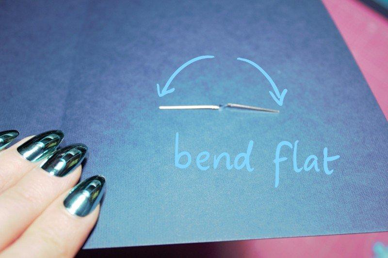 bend legs flat